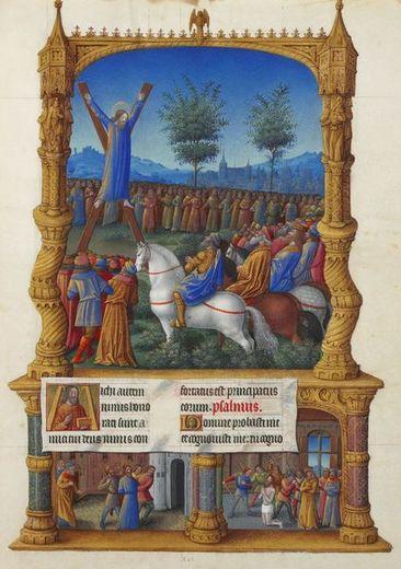 423px-Folio_201r_-_The_Martyrdom_of_Saint_Andrew.jpg